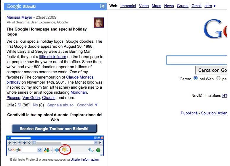 google slide wiki