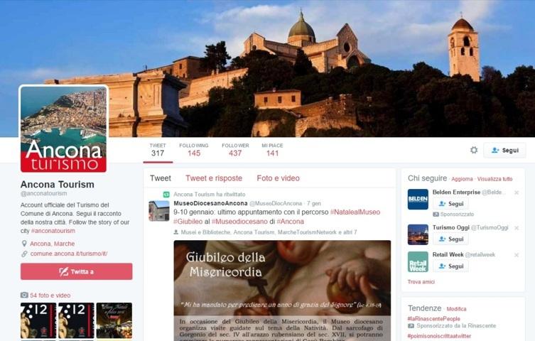 account twitter promozione turistica comune di ancona (FILEottimizzato)