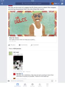 RAYBAN e la sua strategia di gestione delle crisi e customer service sui social network due. pagina ufficiale di facebook