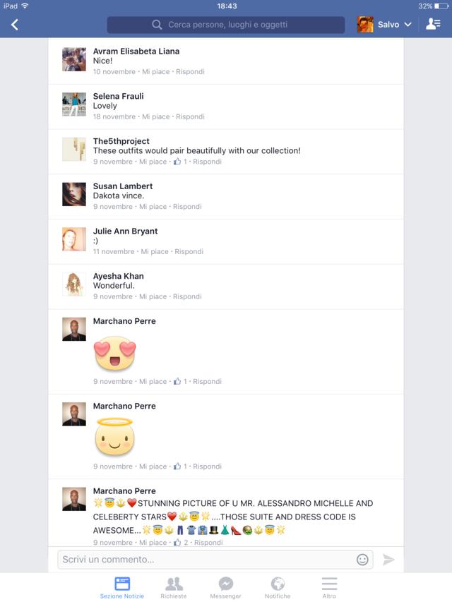 secondo esempio di quanto possa essere dannoso avere followers di basso valore per l'immagine dell'azienda Pagina facebook Gucci 2015