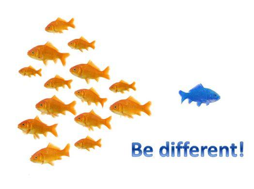 differenziate il vostro business dagli altri siate unici