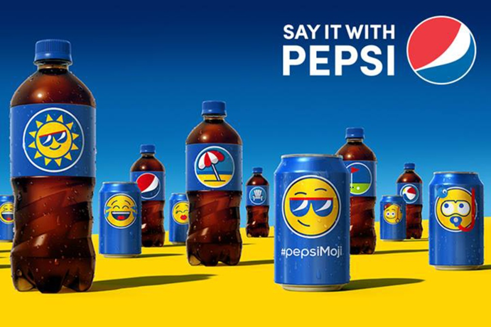 strategia pepsi comunicazione via emoticon