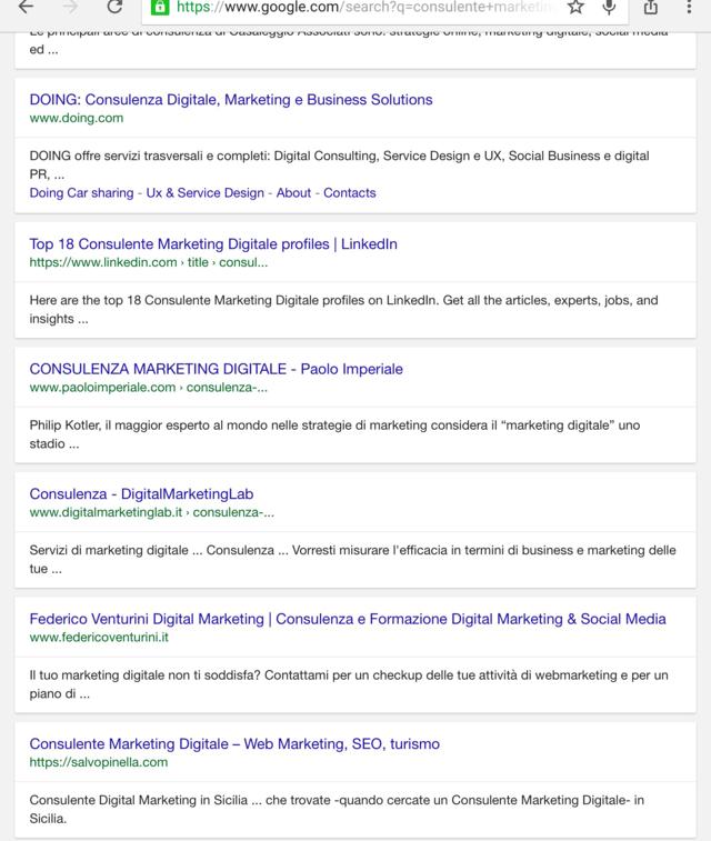 consulente marketing digitale Salvo Pinella